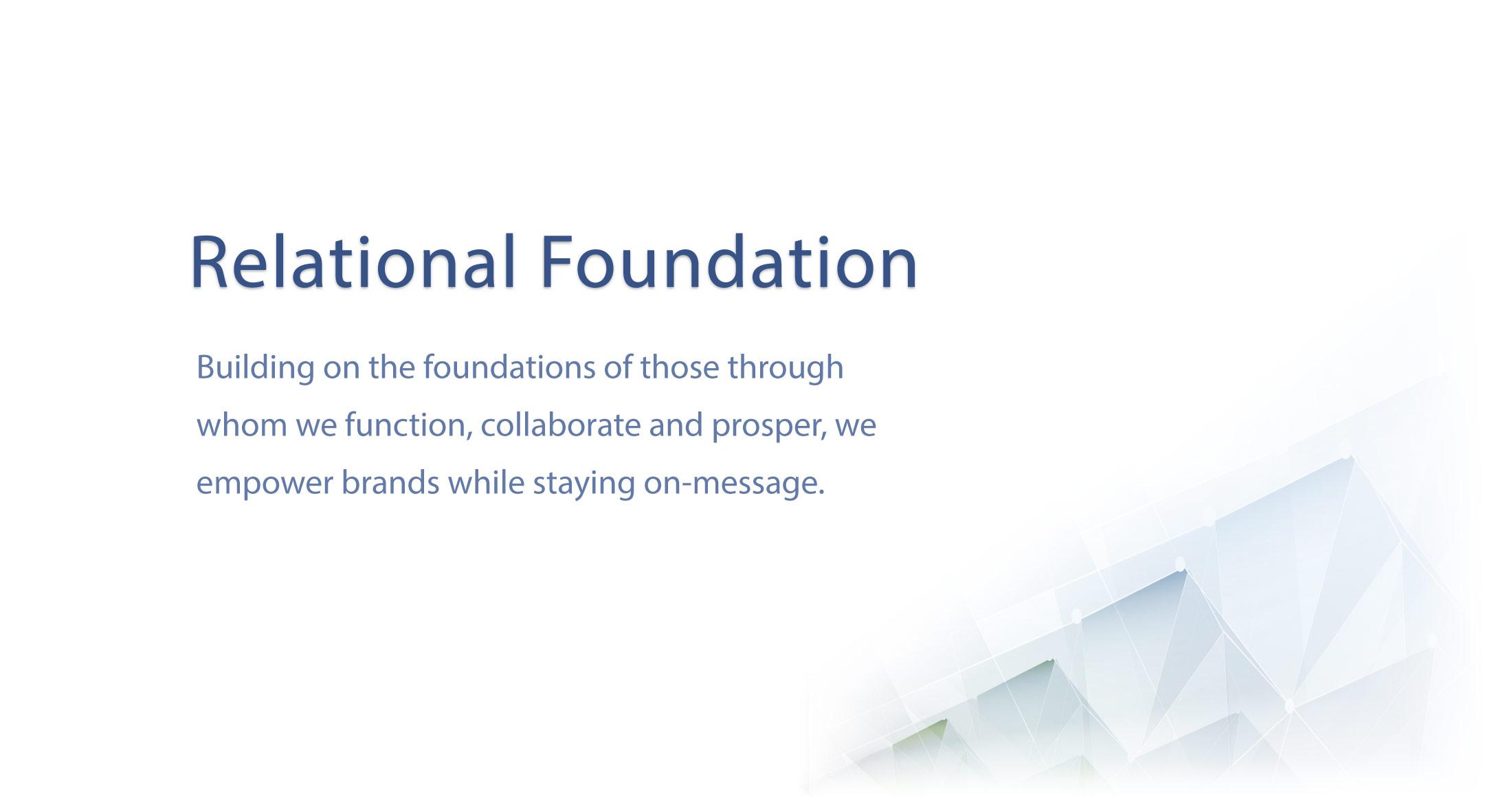 Relational Foundations